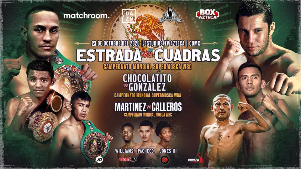 5 MEXICANS IN WORLD TITLE FIGHTS THIS VIERNES EN CIUDAD DE MÉXICO
