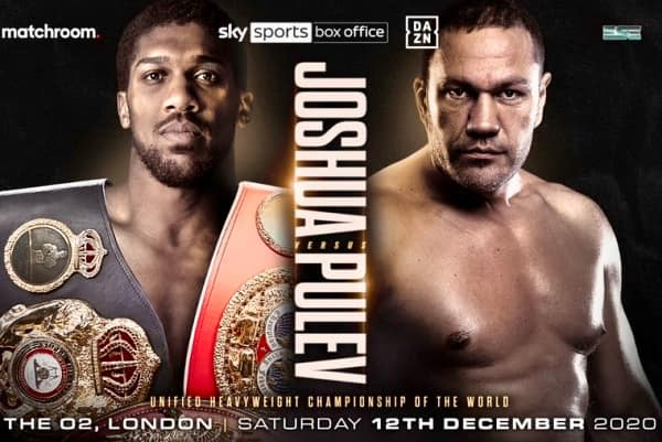 Heavyweight Showdown Joshua vs Pulev Dec 12 in London