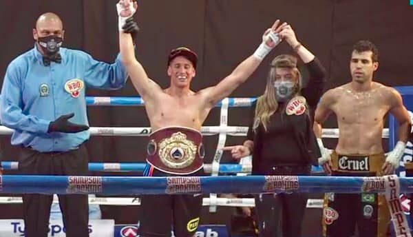 JUAN LEAL KNOCKOUTS PINTO IN SPECTACULAR FASHION, CLAIMS WBO LATINO WELTERWEIGHT BELT IN BRAZIL