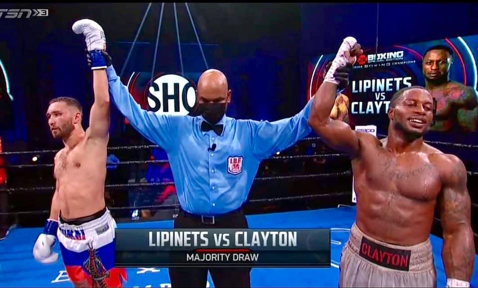 Lipinets and Clayton Draw