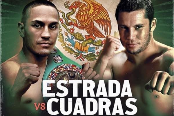 Rematch Estrada vs Cuadras this FRIDAY in Ciudad de México