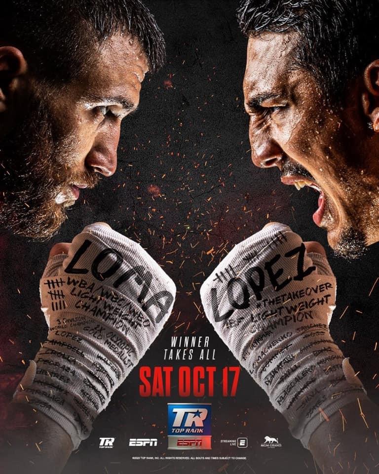 Thriller: Lomachenko vs López THIS Saturday in Las Vegas