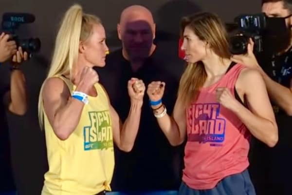 UFC Holly Holm 136, Irene Aldana 136 in Abu Dhabi, United Arab Emirates