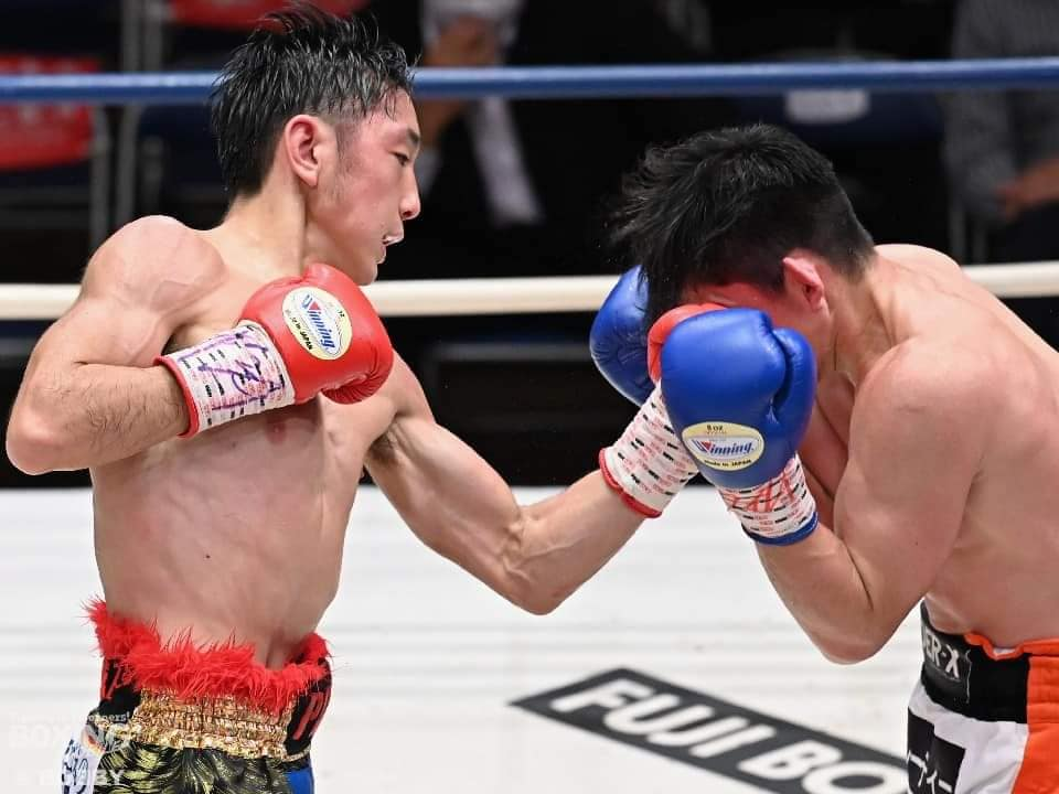 Musashi remained undefeated, TKO'd Tameda in 11th round