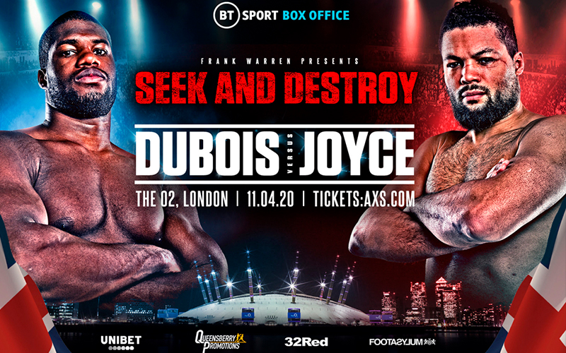 Que sera sera! Dubois Vs Joyce go to war this weekend