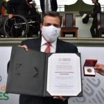 WBC President Mauricio Sulaiman presented with Mexico´s 2020 National Sports Award
