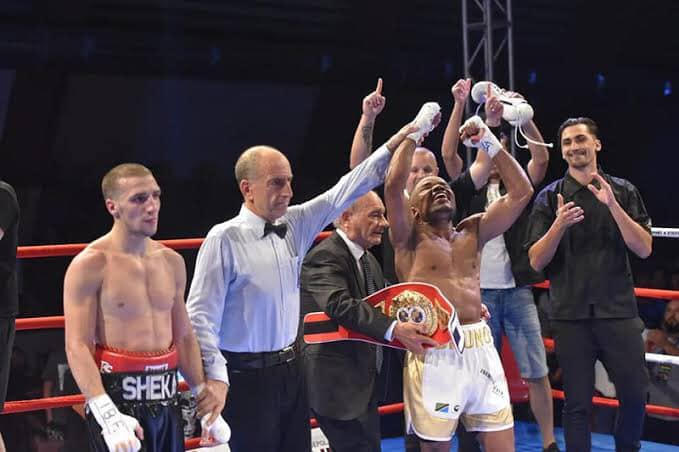 "BRUNO ""THE TERMINATOR"" TARIMO BREAKS INTO IBF'S TOP 10: ""I WONT STOP TILL I'M WORLD CHAMPION"""