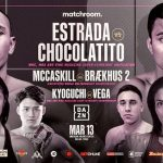 Estrada vs Chocolatito II for the unified WBA/WBC 115-pound world title