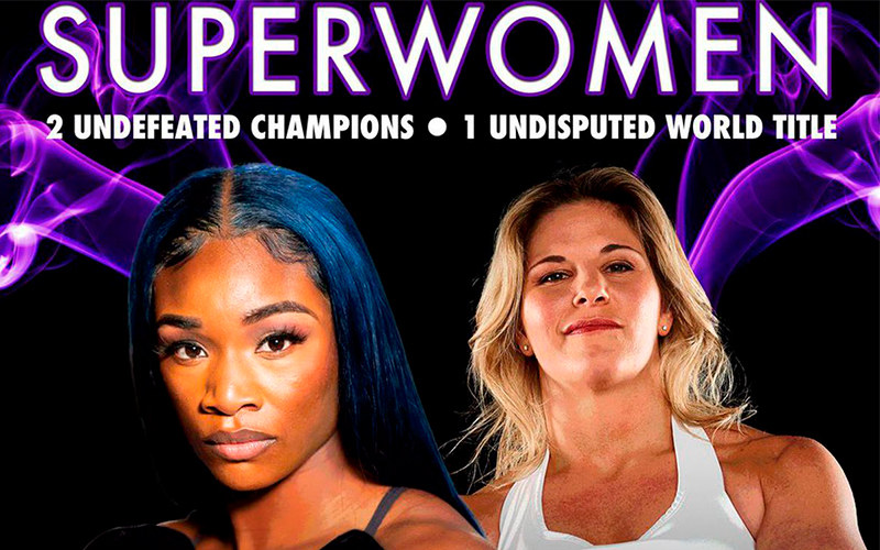 "Shields vs. DiCaire; undisputed super welterweight championship fight to headline ""Superwomen"""