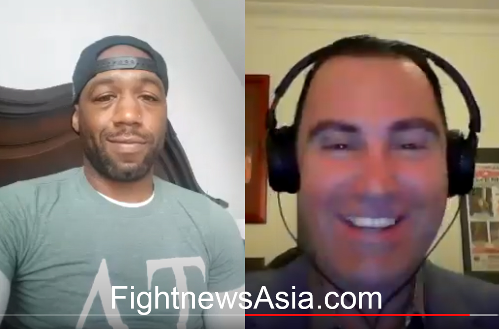 Former WBA World Champion Austin Trout Interviewed by Peter Maniatis of KO Boxing Show Australia!