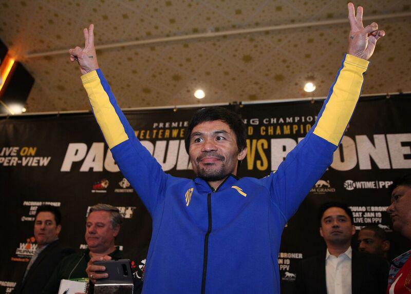WBA designates Manny Pacquiao as Champion in Recess