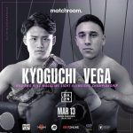 Kyoguchi vs Vega for the WBA and Ring Magazine Light Flyweight