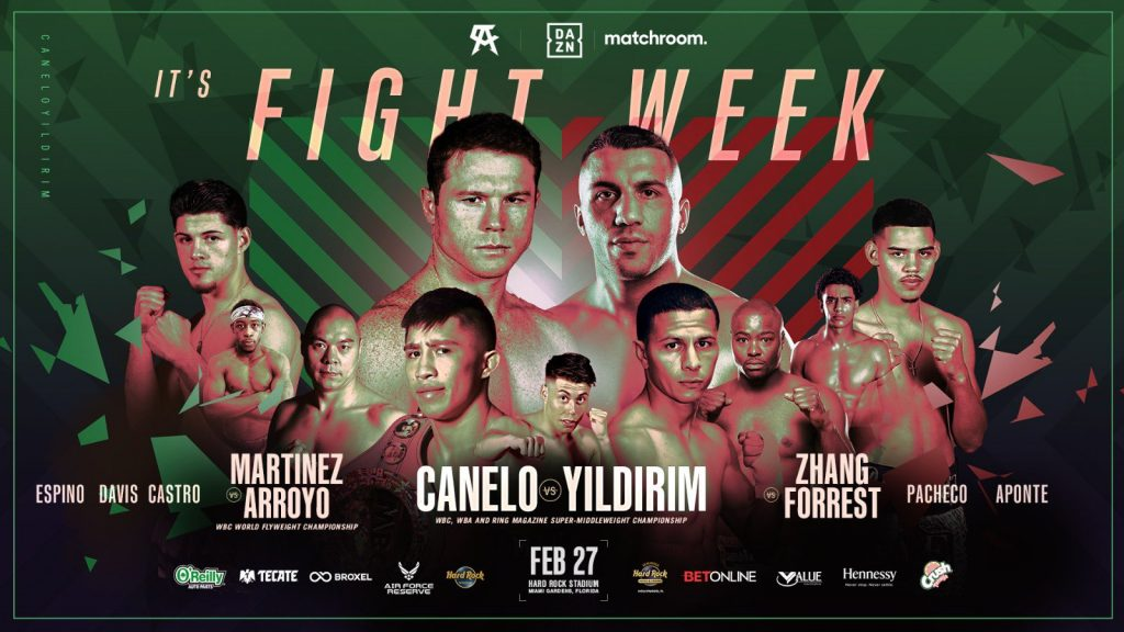 Canelo and Martínez plus great headline card in Miami