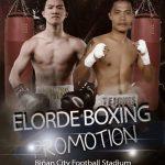 Martin fights Tejones on Feb. 20 in Binan