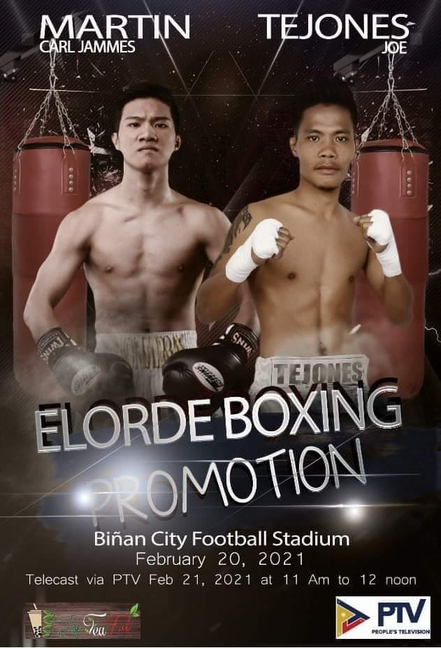 Martin fights Tejones on Feb. 20 in Binan