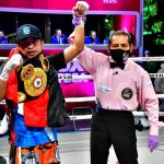 Román González is getting ready for his bout with Estrada