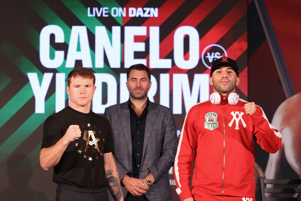 Canelo on track to make history, Yildirim goes for the surprise