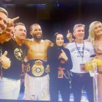 Faris Chevalier defeated WBA #3 Light Heavyweight Blake Caparello on points 97-93 with all 3 judges to win the WBA Light Heavyweight Oceania title