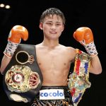 Kyoguchi on his way to the United States for his WBA title defense on March 13