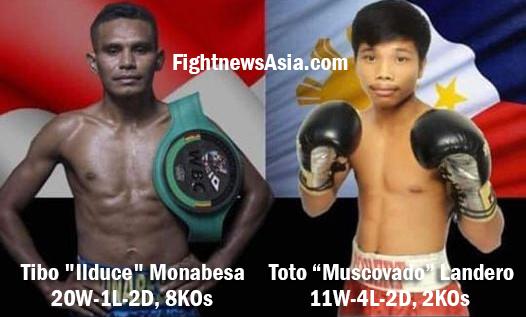 Landero to fight Monabesa for the vacant WBC International Lightweight Title