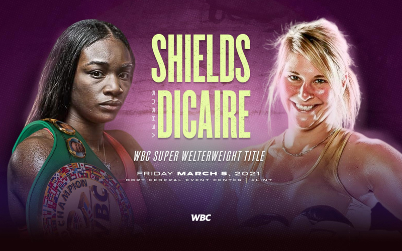 Shields Vs Dicaire this Friday on pay-per-view