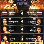 WBC Asia Lightweight champion Apichet Petchmanee and Kaewfah Tor Buamas both scaled at 135 lbs.