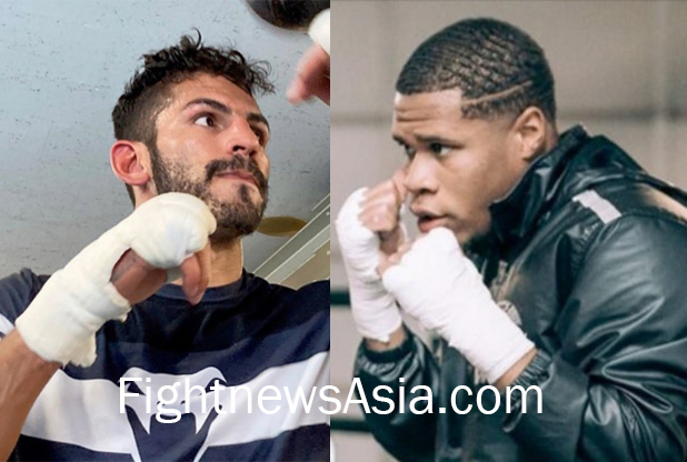 WBC Lightweight champion Devin Haney vs Jorge Linares