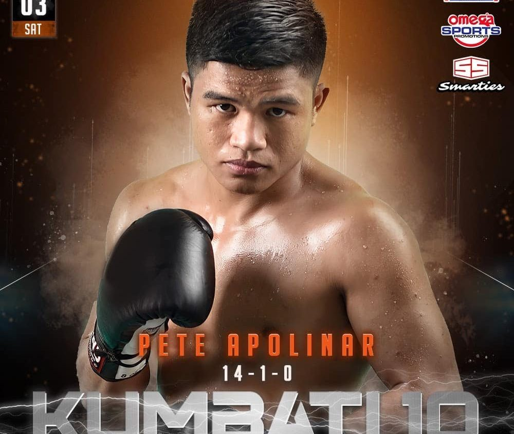 Apolinar wants OPBF Silver feather more than Waminal