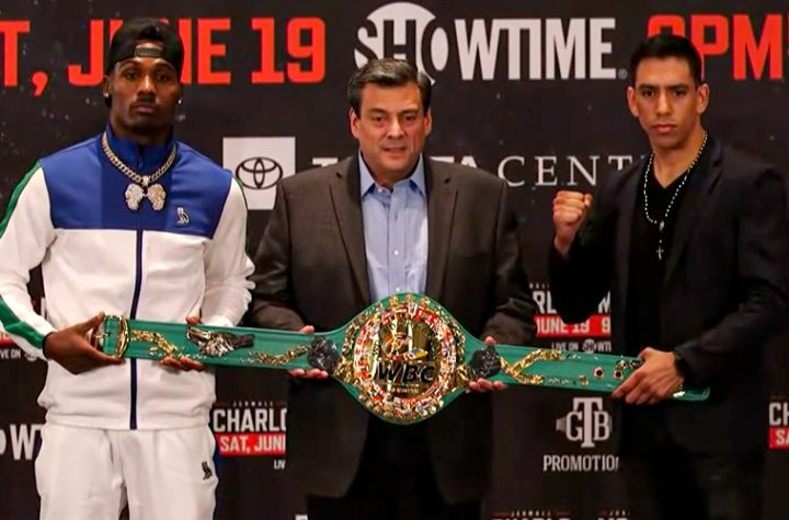 Charlo and Montiel ready to war