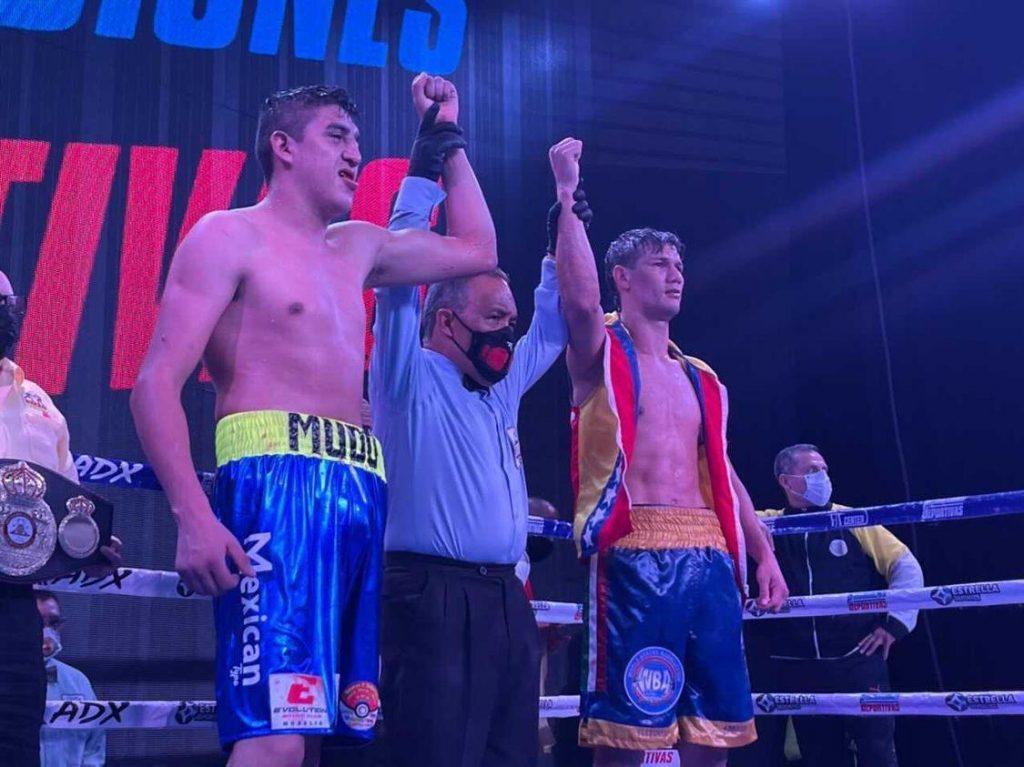 Erik Leon, WBA-Continental Americas Super Lightweight Champion